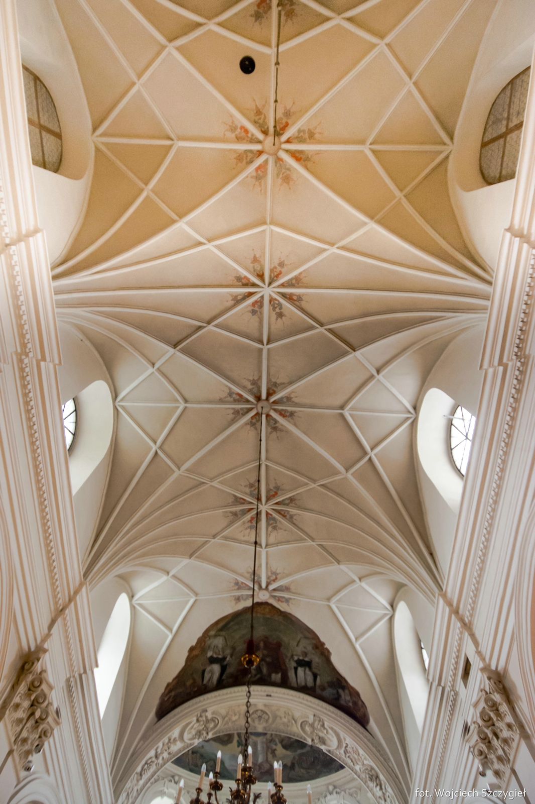 Groin Vault With Stuccos Over The Presbytery